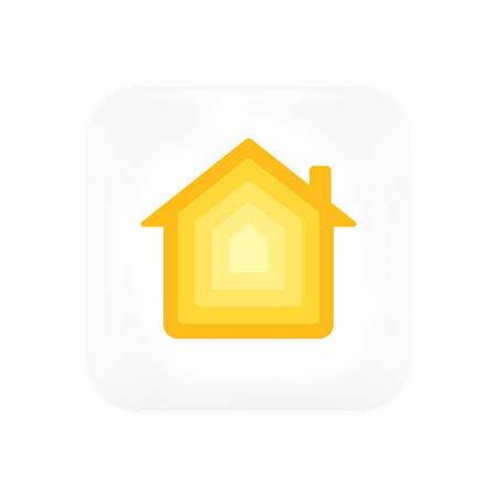 Apple Home 3D Illustration