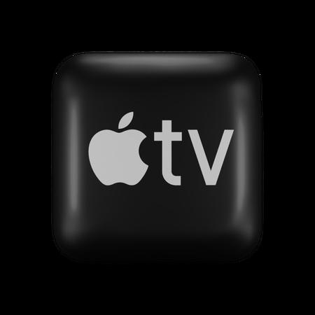 Apple TV 3D Illustration