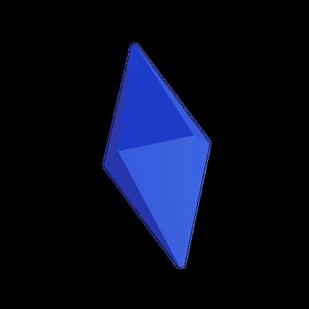 Basic Gem 3D Illustration
