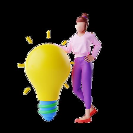 Business Idea 3D Illustration