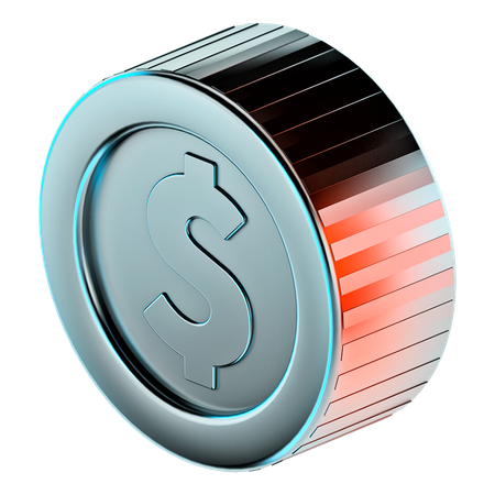 Coin 3D Illustration