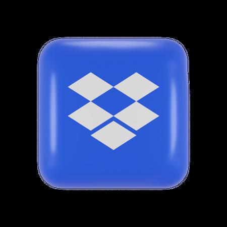 Dropbox 3D Illustration