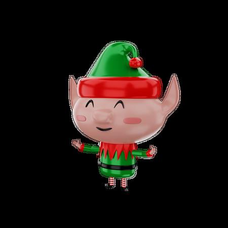Elf 3D Illustration