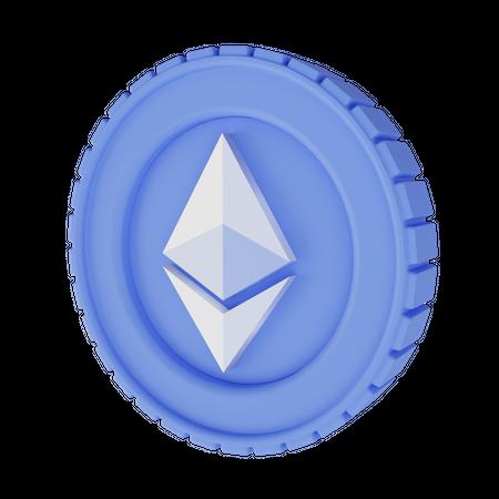 Ethereum 3D Illustration