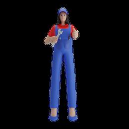 Female mechanic
