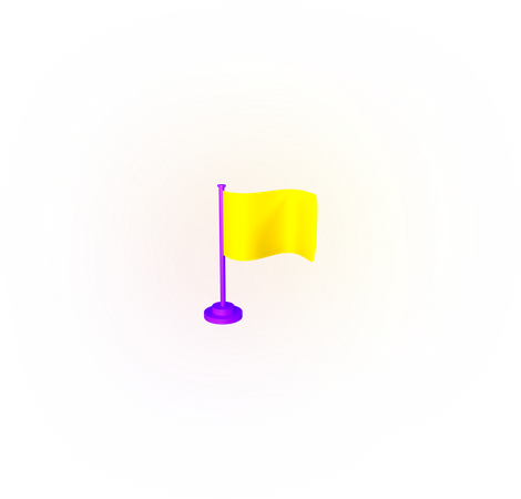 Flag 3D Illustration