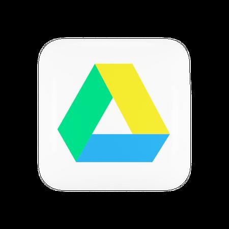 Google Drive 3D Illustration