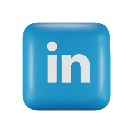 LinkedIn 3D Illustration