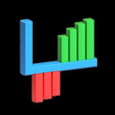 Revenue Growth 3D Illustration
