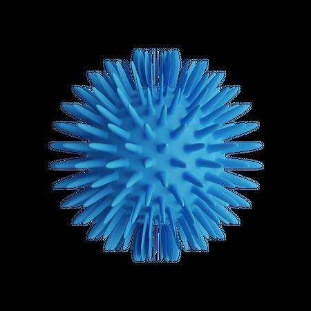 Sea Urchin 3D Illustration