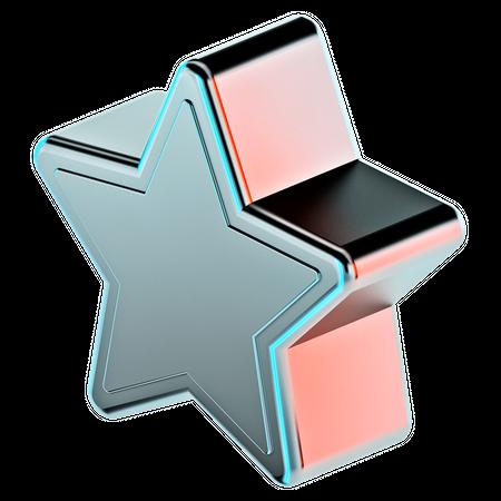 Star 3D Illustration