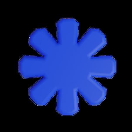 Wireframe hemi-torus 3D Illustration