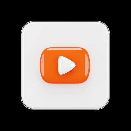 Youtube 3D Illustration