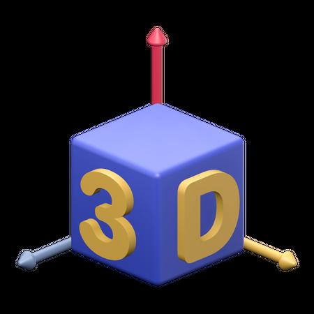 3D Object 3D Illustration
