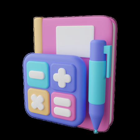 Accounting 3D Illustration