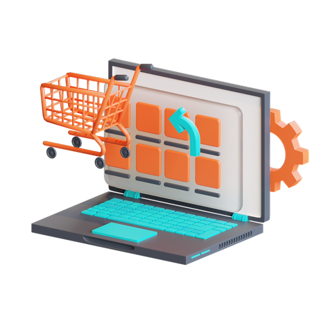 Add to cart 3D Illustration