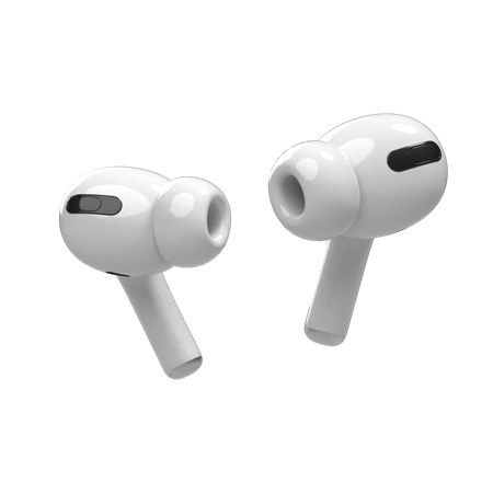 Airpods 3D Illustration