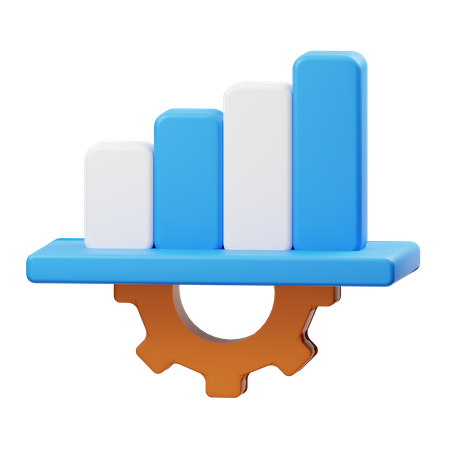 Analysis Management 3D Illustration
