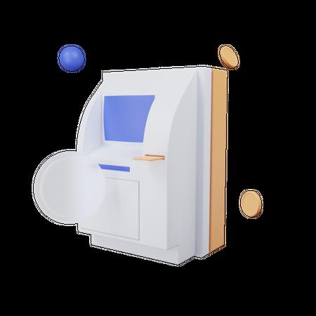 Atm 3D Illustration