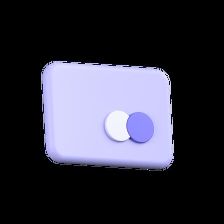 Atm Card 3D Illustration