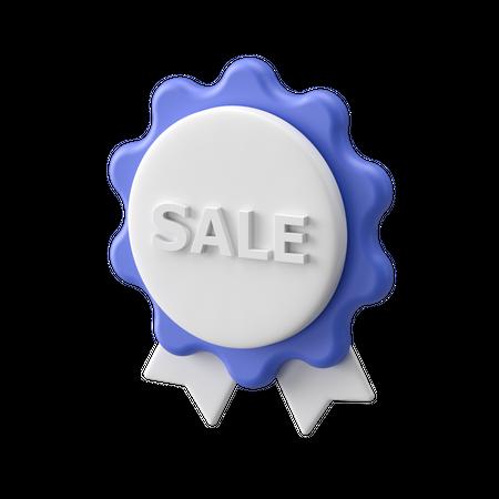 Badge 3D Illustration