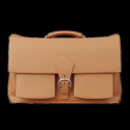 Bag 3D Illustration