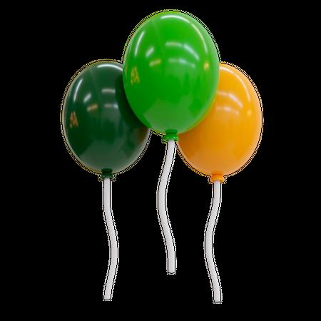 Balloons 3D Illustration
