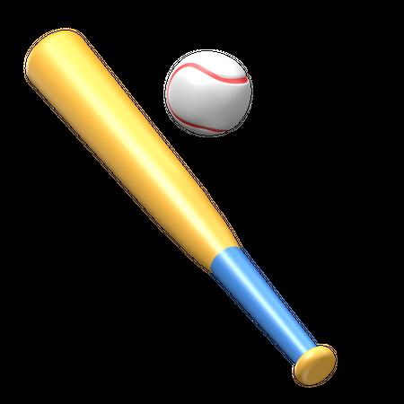 Baseball 3D Illustration