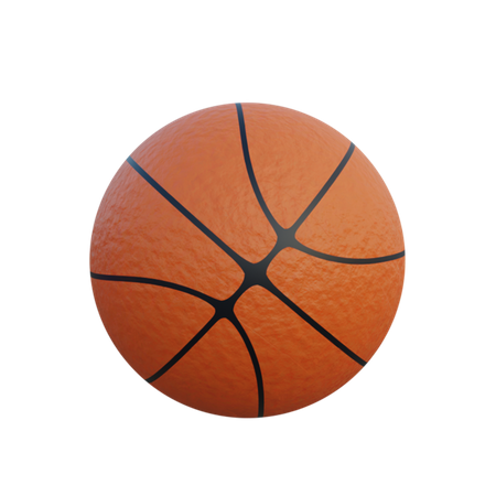 Basketball 3D Illustration