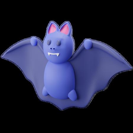 Bat 3D Illustration
