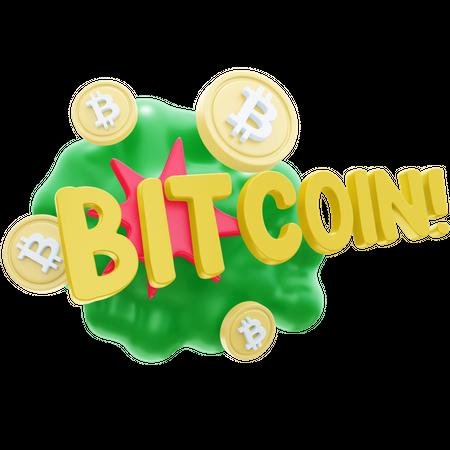 Bcoin 3D Illustration