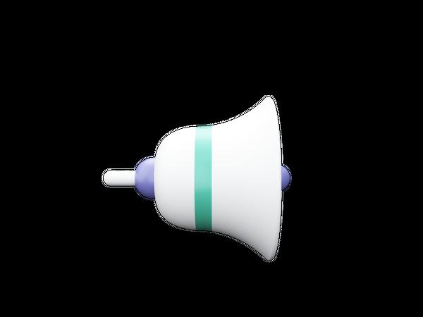 Bell 3D Illustration