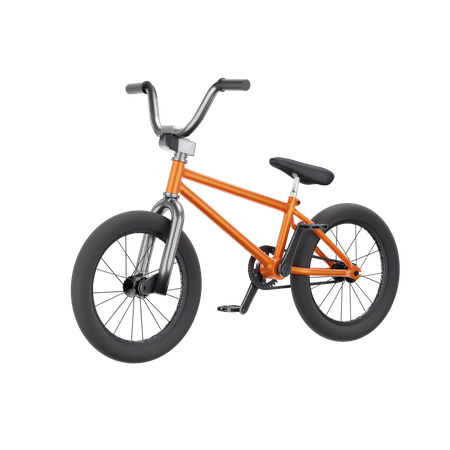 Bicycle 3D Illustration