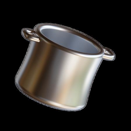 Big Pan 3D Illustration
