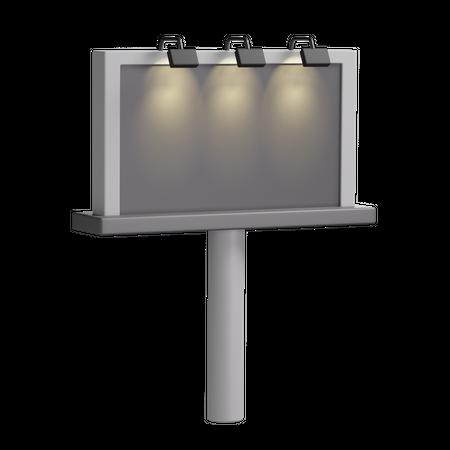 Billboard 3D Illustration