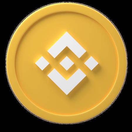 Binance Coin 3D Illustration