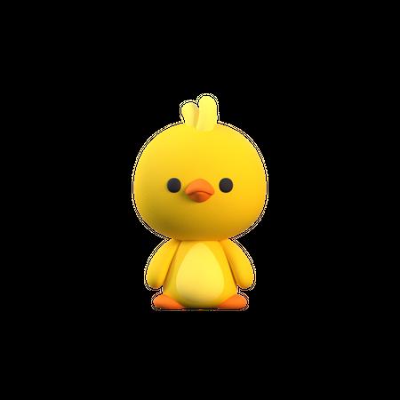 Bird 3D Illustration