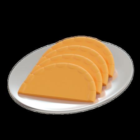 Biscuits 3D Illustration