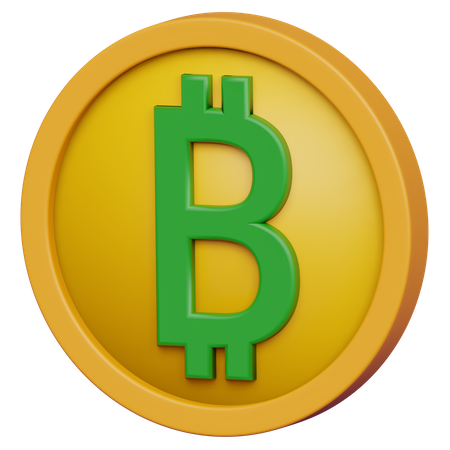 Bitcoin 3D Illustration