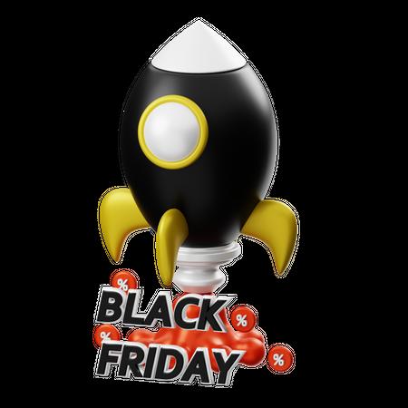 Black Friday Offer 3D Illustration