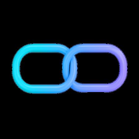 Blockchain 3D Illustration