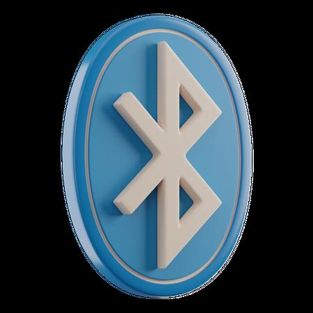 Bluetooth 3D Illustration