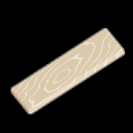 Board 3D Illustration