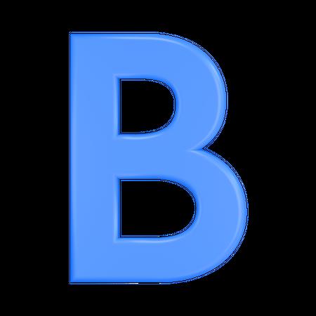 Bold Font 3D Illustration