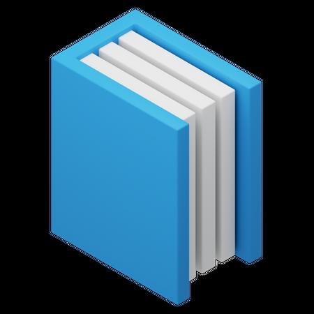Book 3D Illustration