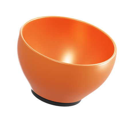 Bowl 3D Illustration