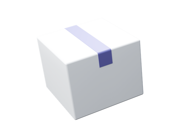 Box 3D Illustration
