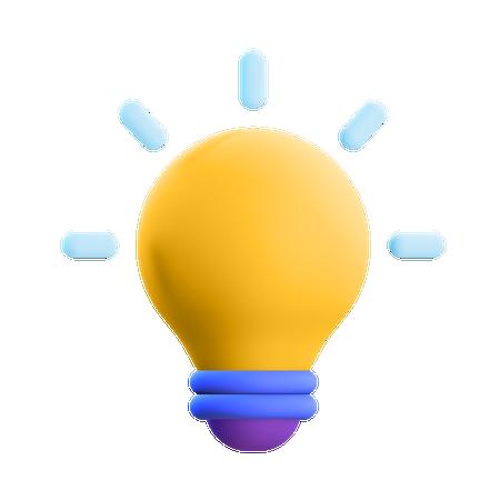 Bulb 3D Illustration