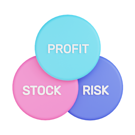 Business Chart 3D Illustration