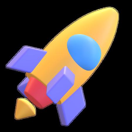 Business Startup 3D Illustration